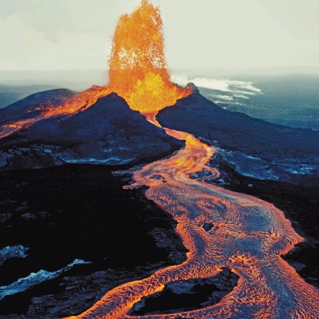 El Volcán más caliente del mundo