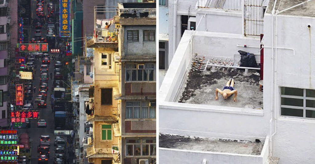 El día a día en fotografías de las personas en Hong Kong