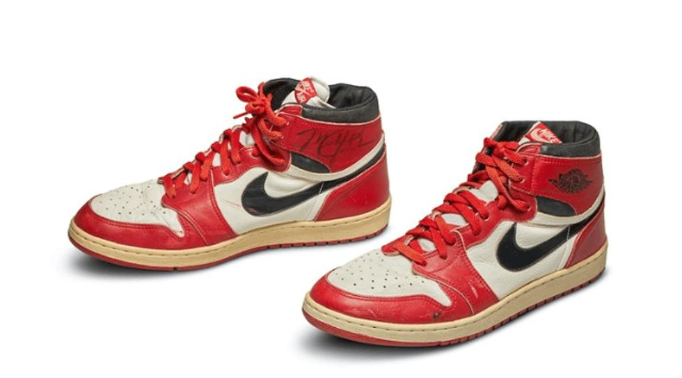 subastan los Nike Air originales de Michael Jordan