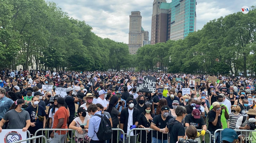 Protestas por Floyd