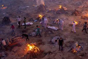 FOTOS: Segunda ola de Covid causa caos hospitalario en India